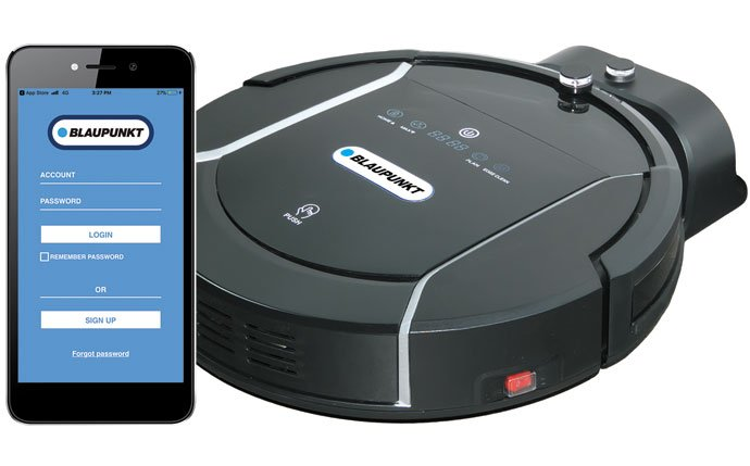 XSMART - De smart silent robot vacuum cleaner - made by Blaupunkt